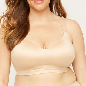 Catherines Nude Full Coverage Smooth Underwire Bra
